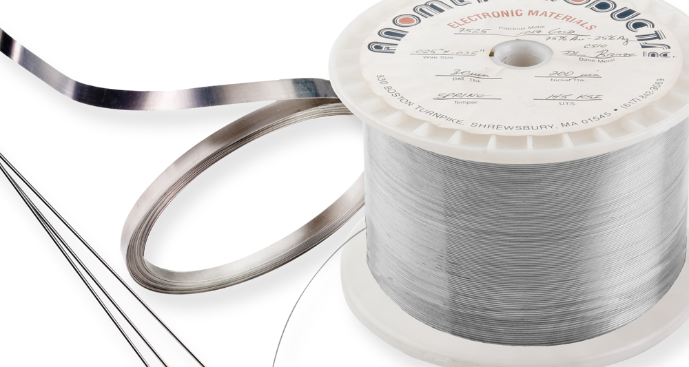 Molybdenum Wire | Clad Moly Wire Anomet Products