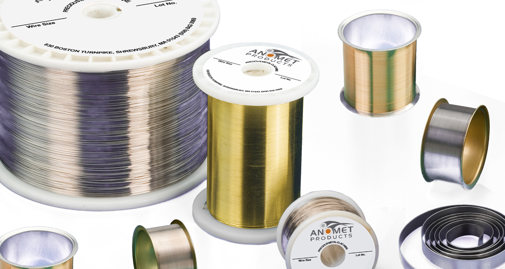 Precious Metal-Clad Wire | Anomet Products